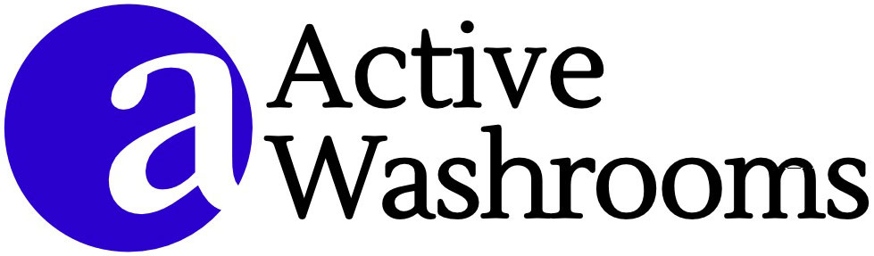 Active washrooms logo