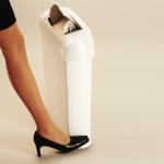Foot-Pedal Feminine Hygiene Units